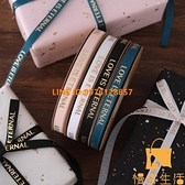 燙金螺旋緞帶鮮花包裝絲帶花束包花綢帶禮品蛋糕包裝彩帶【慢客生活】