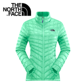 【The North Face 女 ThermoBall 暖魔球 保暖外套 浪花綠】 CUD5/暖魔球外套★滿額送