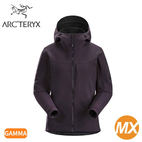 【ARC TERYX 始祖鳥 女 Gamma MX軟殼外套《狄馬褐》】19275/連帽外套/防風外套