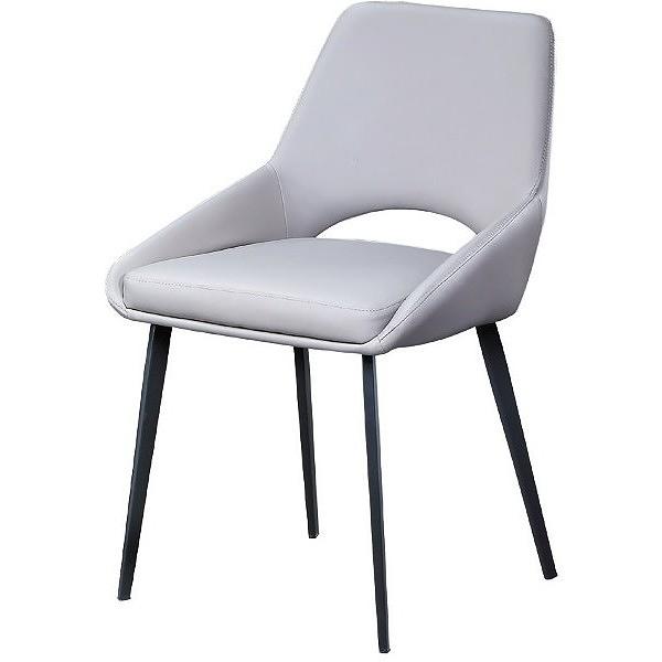 餐椅 PK-600-16 C020 餐椅(灰皮)【大眾家居舘】