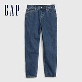 Gap女裝 時尚洗舊五口袋牛仔褲546938-中度靛藍