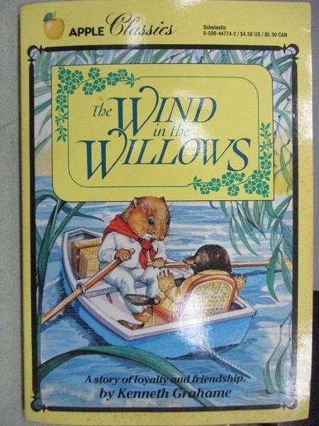 【書寶二手書T9/原文小說_FVH】The Wind in the Willows