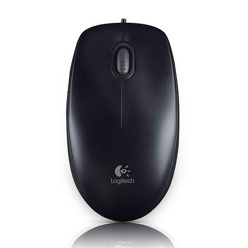 Logitech 羅技 M100r USB 光學 舒適滑鼠