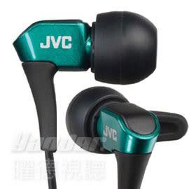 【曜德 / 送收納盒】JVC HA-FXH10 綠 微型動圈 耳道式耳機 線夾 / 免運
