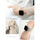 apple watch錶帶 新款小香風鑲鑽 不锈钢金屬錶帶 38mm 42mm 40mm 44mm 1 2 3 4 5代