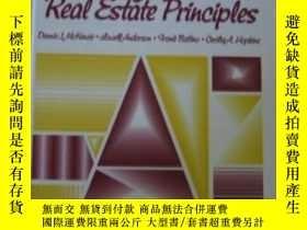 二手書博民逛書店California罕見Real Estate Principles (5th Ed) (prentice Hal