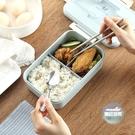 便當盒 小麥秸稈飯盒女韓式便當盒可微波爐...