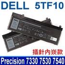 DELL 5TF10 . 電池 0H6K6V 0VRX0J 0WMRC77I 7M0T6 CJ18V DP9KT GHXKYM GW0K9 Precision M7540 M7730 M7740 7330 7530 7540 7730 7740