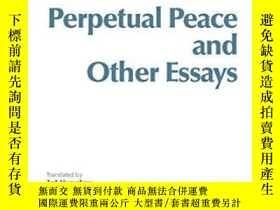 二手書博民逛書店Perpetual罕見Peace And Other Essays On Politics, History, A