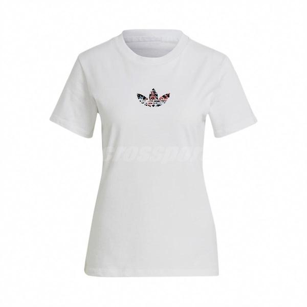 adidas 短袖T恤 Essentials 3-Stripes Tee 黑 白 女款 運動 訓練 【ACS】 GN3042