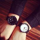 女錶 對錶 情侶 皮革 手錶 簡約 正韓...