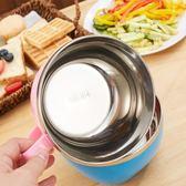 304不銹鋼泡面碗 日式創意餐具帶蓋方便面碗家用塑料大碗泡面 生日禮物 創意