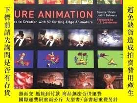 二手書博民逛書店Pure罕見Animation: Steps to Creation with 57 Cutting-edge A