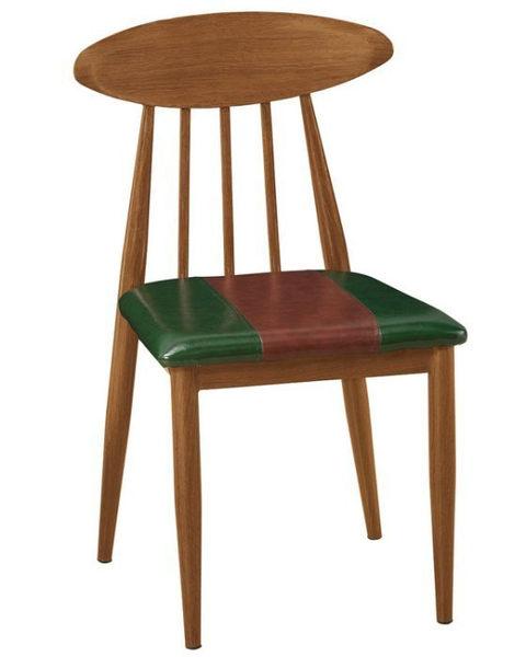 【新北大】✪ C879-12 艾堡皮面餐椅(貝殼椅)-18購