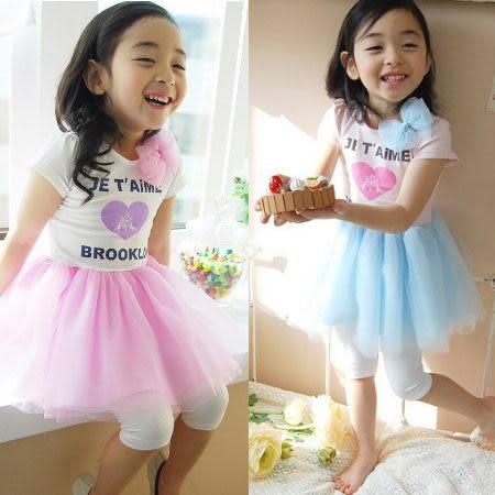 *╮小衣衫S13╭*可愛愛心蕾絲蝴蝶結洋裝1020330