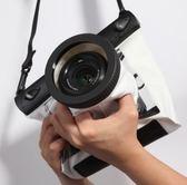 相機防水罩 單反相機防水袋 防沙套潛水罩 佳能760D 5D3/4 6D 700D 尼康D7200 玩趣3C