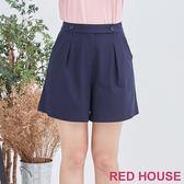 Red House 蕾赫斯-雙釦短褲(共2色)