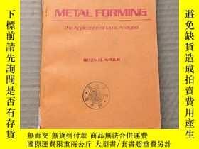 二手書博民逛書店metal罕見forming(P543)Y173412