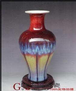 景德鎮 陶瓷器花瓶