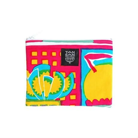 odekake POUCH 外岀小袋 -welcome fruits pink