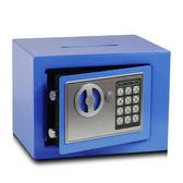 全鋼保險櫃17e存錢投幣櫃家用保險箱迷你電子密碼保管箱儲蓄罐-Ifashion IGO