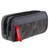 大容量筆袋簡約文具袋創意學生大容量鉛筆袋筆盒直尺   LannaS