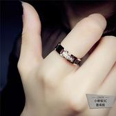 時尚個性食指戒指女韓版簡約指環【小檸檬3C】