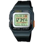 【CASIO】 我的運動方形電子腕錶-黑(SDB-100-1A)