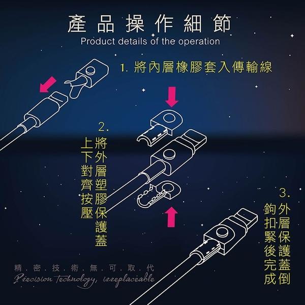【EAGER】APPLE原廠傳輸線保護套 iPhone/iPad/iPod (三組入)