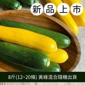 【福山農場】阿里山有機櫛瓜 (8斤/12~20條)