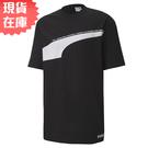 【現貨】PUMA AVENIR 男裝 短袖 短T 休閒 棉質 黑 歐規【運動世界】59645701