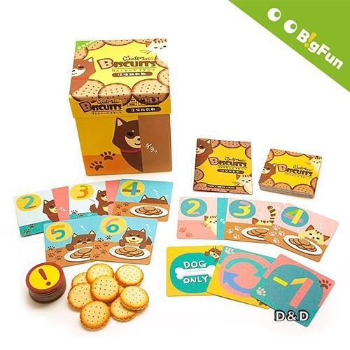 【 BigFun 大玩桌遊 】汪喵餅乾戰╭★ JOYBUS玩具百貨