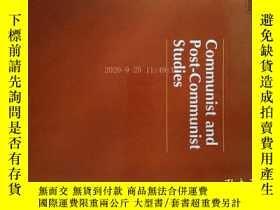 二手書博民逛書店Communist罕見and Post-Communist Studies (Magazine) 09 2017