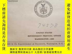 二手書博民逛書店REPORT罕見OF THE《UNITED STATES COM