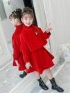 女童冬裝新款洋裝洋氣2019秋冬套裝裙時髦裙子兒童女兩件套韓版  Cocoa