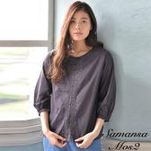 ❖ Hot item ❖ 甜美花卉刺繡襯衫上衣 (提醒➯SM2僅單一尺寸) - Sm2