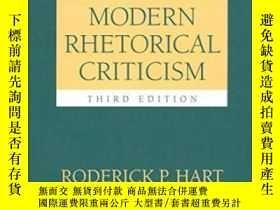 全新書博民逛書店ModernRhetorical Criticism-現代修辭批評Y436638 Roderick P Har