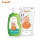 康貝 Combi 植物性奶瓶蔬果洗潔液促銷組 (1罐+1補)