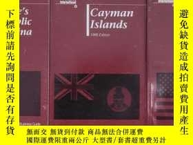 二手書博民逛書店United罕見States 1996 Edition,Cayman Islands 1995 Edition,P