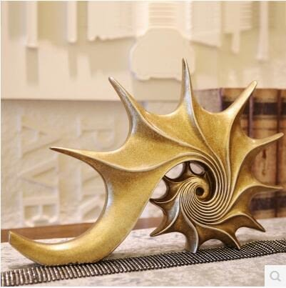 歐式樣板房家居裝飾品擺件 客廳工藝品海螺書房書櫃