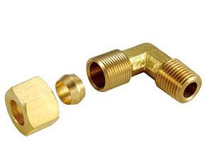 銅接頭 銅管接頭 1/2 PT*5/16 銅管