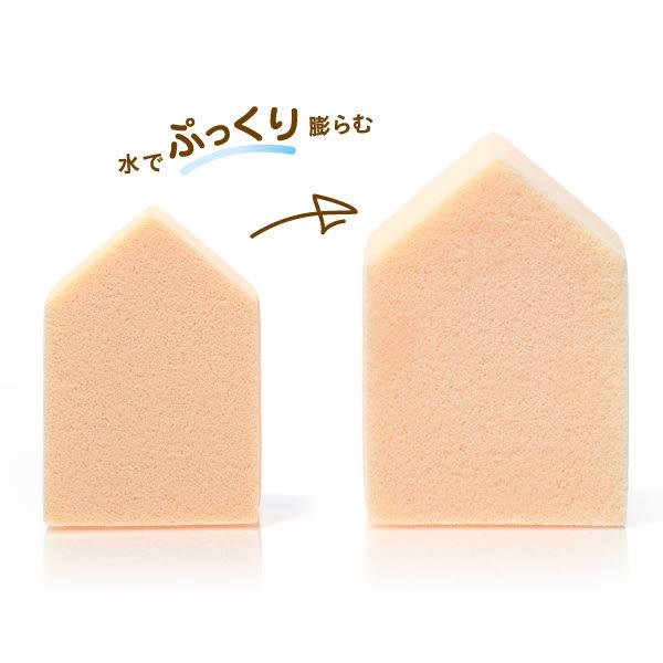 ROSY ROSA 果凍感低敏粉撲五角形N 6入  ◇iKIREI