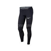Nike 長褲 Pro Tights 黑 白 男款 緊身褲 運動休閒 【ACS】 BV5642-010