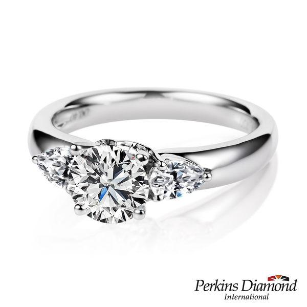 GIA鑽戒 PERKINS 伯金仕 Queen頂級系列 1克拉鑽石戒指