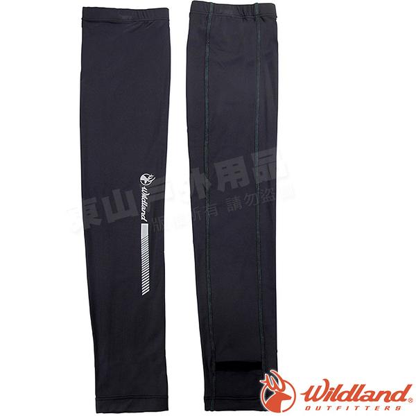 Wildland 荒野 W1810-93深灰色 中性開洞抗UV透氣袖套 抗UV遮陽手套/快乾機車手套/單車防曬袖套*