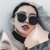 新款墨鏡女韓國個性圓臉GM太陽鏡ins網紅同款偏光太陽眼鏡潮 夏季新品