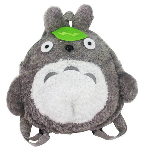 【卡漫城】 Totoro 玩偶 後背包 約32公分高 小 ~ 絨毛娃娃 書包 背包 龍貓 布偶 拉鍊式 造型 外出包