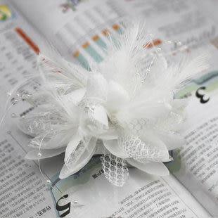 新娘頭花/胸花/手花 三通用 發飾 4542