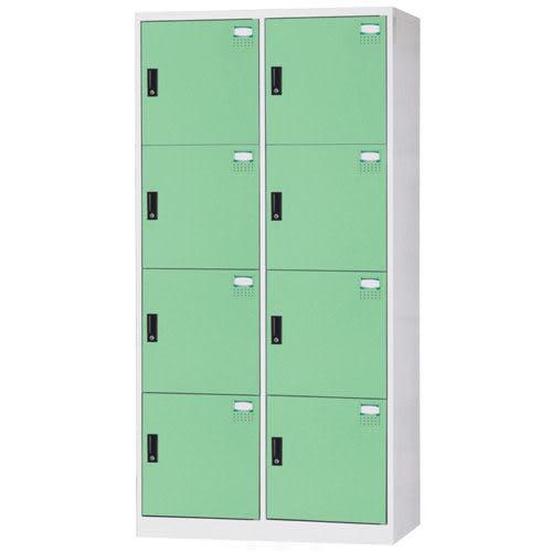 【時尚屋】HDF多用途3x6尺鋼製8格置物櫃(免組裝)(免運費)(台灣製)