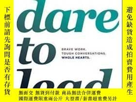 二手書博民逛書店Dare罕見To Lead-敢於領導Y436638 Bren? Brown Random House, 201